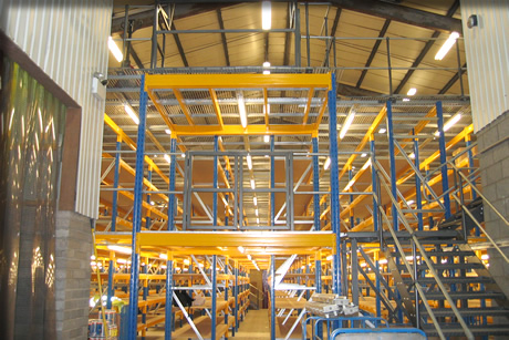 Multi-Tier Racking Structures and Storage