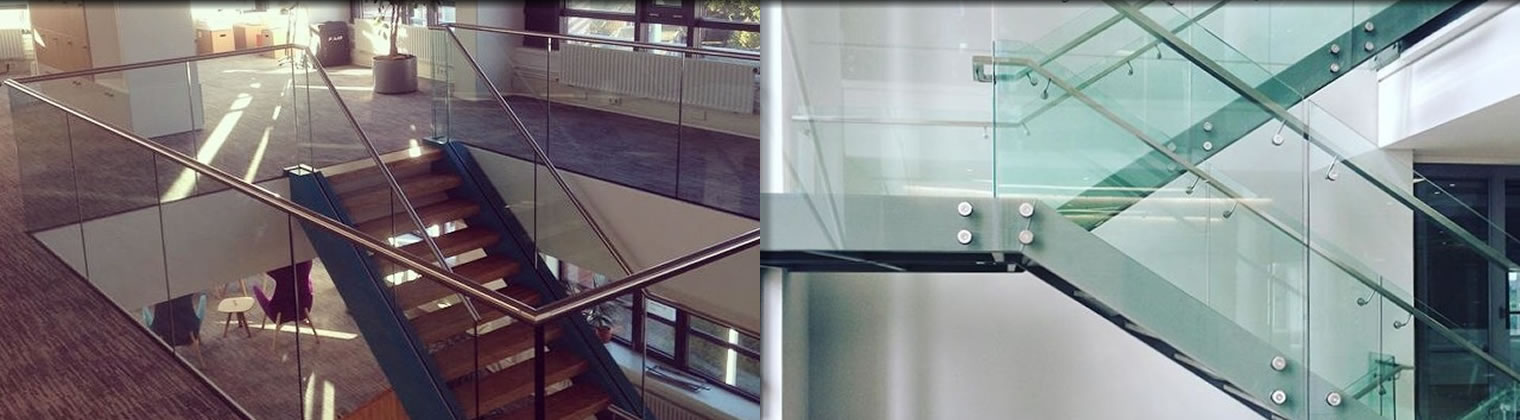 Feature Glass Balustrade from Alba Systems