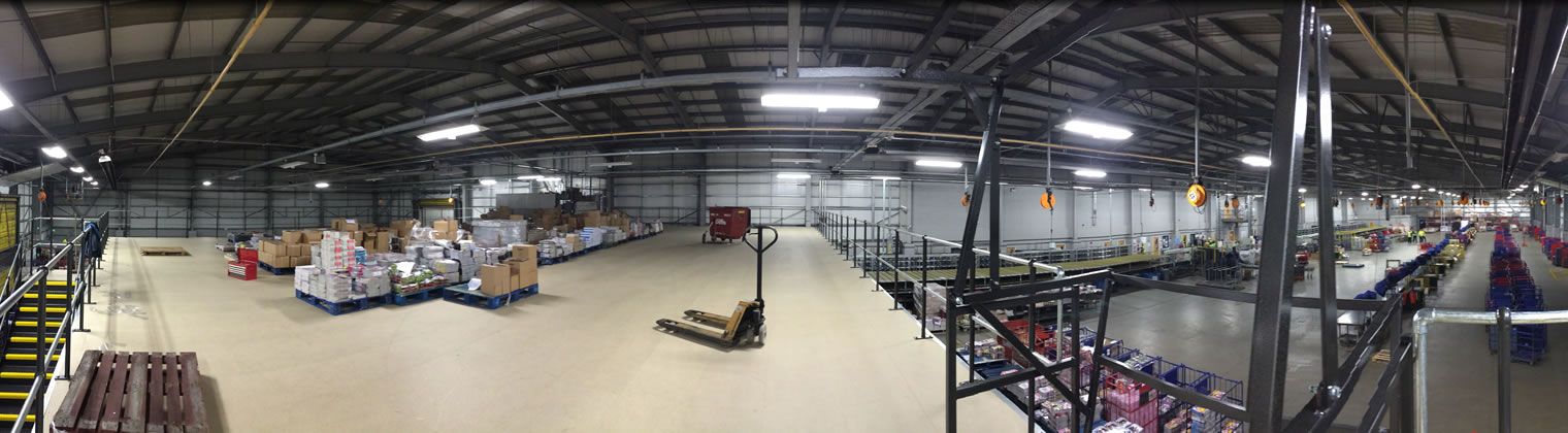 Mezzanine Floors and Decking from Alba Systems