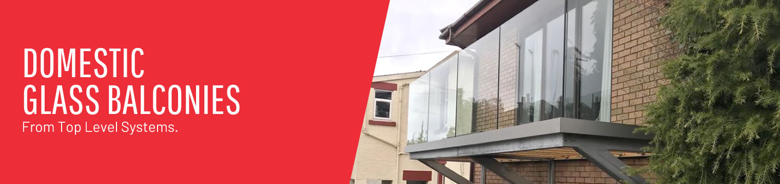 Domestic Glass Balconies from Top Level Systems